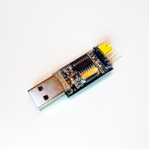 USB to UART serial bridges