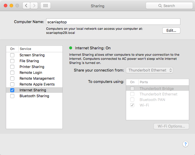 Intercepting smartphone HTTP requests on MacOS